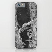 Black plume iPhone 6 Slim Case