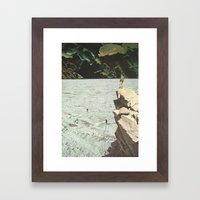 Walk Out To Winter Framed Art Print