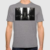 City Mens Fitted Tee Tri-Grey SMALL