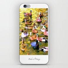 Ducks à l'Orange Poster iPhone & iPod Skin