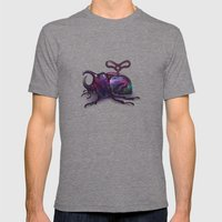 Beetle Mens Fitted Tee Tri-Grey SMALL