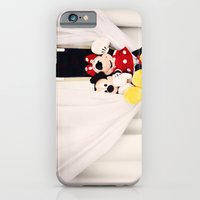 iPhone & iPod Case featuring Mickey and Minnie Mouse by castle on a cloud