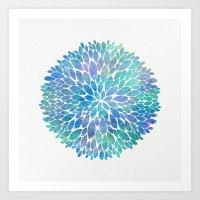 Petal Burst #8 Art Print
