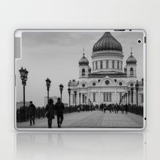 the Cathedral of Christ the Savior in Moscow Laptop & iPad Skin
