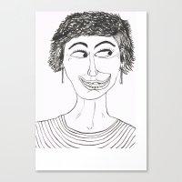 Happy And Loco Canvas Print