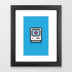 PixelMonsterMec Framed Art Print