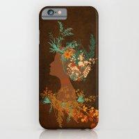 Mujer Floral iPhone 6 Slim Case