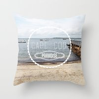Cape Cod Paradise  Throw Pillow