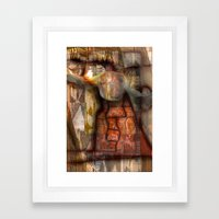 Ethnic Gyration Framed Art Print