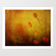 Floral Abstract Art Print