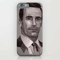 Polygon Don Draper - bot iPhone 6 Slim Case