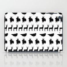 Bunny, reindeer, bird iPad Case