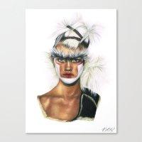 Fashion High. Canvas Print