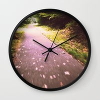Wishing for Wings Wall Clock
