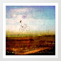 Prendre l'air Art Print