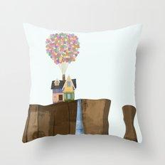 UP (Paradise Falls) Throw Pillow