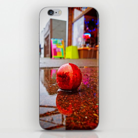 Rainy day decoration iPhone & iPod Skin