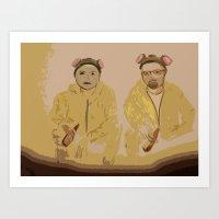 Breaking Bad Art Print