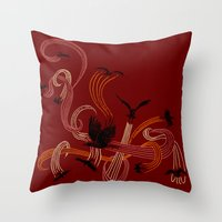Holding Pattern Throw Pillow