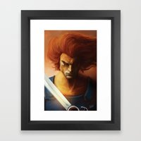 ThunderCats Collection - Lion-O Framed Art Print