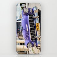 Purple Chevy iPhone & iPod Skin