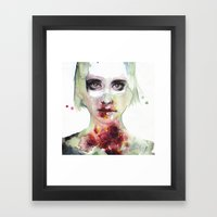 Keeping Inside This Wild… Framed Art Print