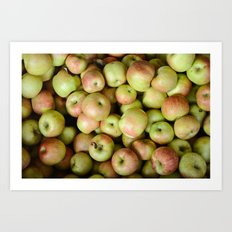 Honeycrisp Art Print