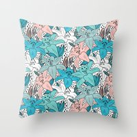 Fresh Garden  Throw Pillow