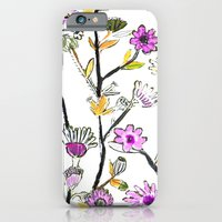 iPhone & iPod Case featuring Spring Flowers by Pink Pagoda Studio / Barbara Perrine Chu