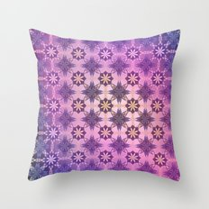 TEXTURE POP - Psychedelic | Mixed Colour | Pop | Abstract | Vector | Retro | Vintage Throw Pillow