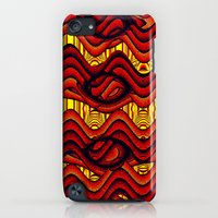 iPod Touch Cases featuring Sizzle! by Bunny Clarke