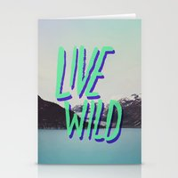 Live Wild: Alaska Stationery Cards