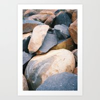 Rock Pile From NSW/ACT B… Art Print
