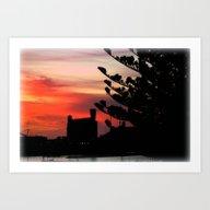 Art Print featuring Sunrise At Port Of Portl… by Chris' Landscape Ima…