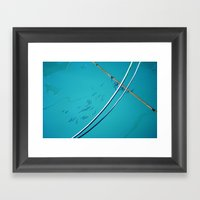 In Water Framed Art Print