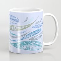 Pandora's Evils in BLUE Mug