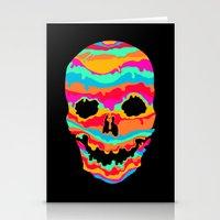 Melting Inside (dark) Stationery Cards