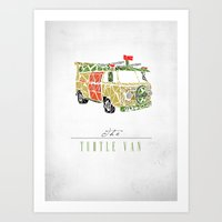 The Turtle Van Art Print