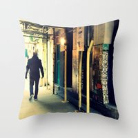 Neals Yard London Throw Pillow