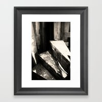 The Very End Framed Art Print