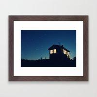 Cabin in the Stars Framed Art Print