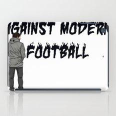 AGAINST MODERN FOOTBALL iPad Case