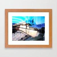 V1bsyn Framed Art Print