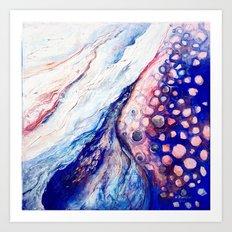 Ocean detail Art Print