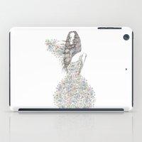 Flower Girl - pattern iPad Case