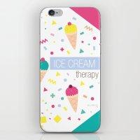 Ice Cream Therapy iPhone & iPod Skin