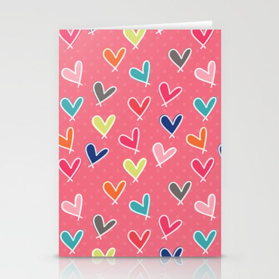 Blow Me One Last Kiss - Pink Stationery Card