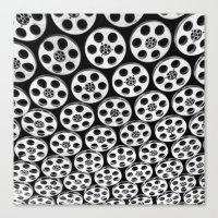 Hollywood & Vine Film Sp… Canvas Print