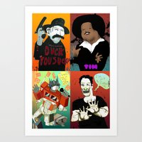 Pop Mix Of The Some Of T… Art Print