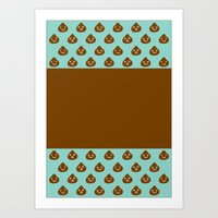 MINT CHOCOLATE Art Print